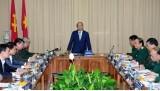 越南政府总理阮春福高度评价胡志明主席陵管委会的工作成绩
