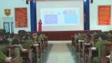 Công an tỉnh tổ chức tập huấn công tác bình đẳng giới