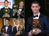 Ronaldo giành Quả Bóng Vàng thứ năm
