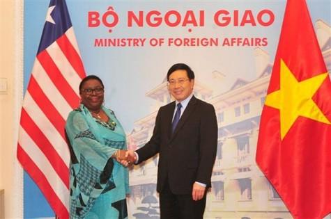 Vietnam, Liberia strive to triple trade revenue