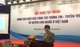 越南提高人权新闻宣传工作的效果