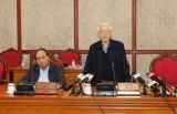 越共中央政治局召开会议:阮富仲总书记要求做好干部工作