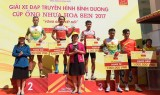 Mai Nguyen Hung wins seventh stage of television cycling event