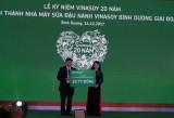 Vinasoy kỷ niệm 20 năm thành lập và khánh thành nhà máy sữa đậu nành tại Bình Dương