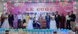 平阳省青年工人和劳动者扶助中心举行文明、节省集体婚礼