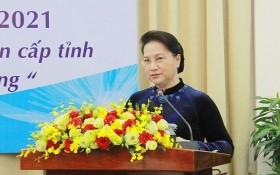 越南国会主席阮氏金银出席越南东南部地区各省市2016-2021任期人民议会常务委员会第二次会议