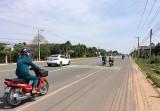 Đường ĐT741 đoạn qua xã Tân Bình, huyện Bắc Tân Uyên: Cần sớm hoàn thiện các hạng mục công trình