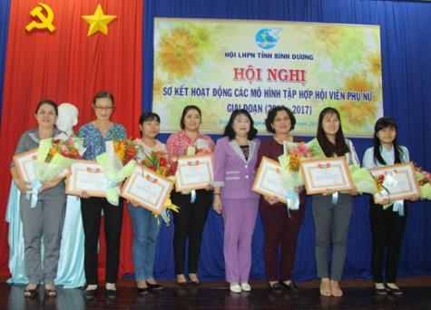 Hội Liên hiệp phụ nữ tỉnh: Sơ kết 3 năm hoạt động các mô hình tập hợp phụ nữ giai đoạn 2015-2017