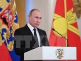 Tổng thống Nga, Thủ tướng Đức gửi thông điệp chúc mừng Năm mới