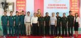 TX.Thuận An: Ra mắt Trung đội Tự vệ Công ty TNHH ASG Vina
