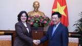 越南政府副总理兼外交部长范平明会见古巴驻越南大使
