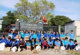 Đoàn trường Trung cấp Kỹ thuật và Nghiệp vụ công đoàn: Thăm, tặng quà tại Trung tâm Nuôi dưỡng người già tàn tật - cô đơn