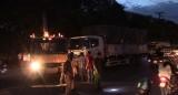 Xe tải cán chết người phụ nữ đi xe đạp