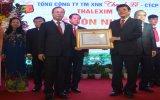 Tổng Công ty Thương mại - Xuất nhập khẩu Thanh Lễ: Đón nhận Huân chương Lao động hạng nhất