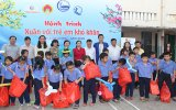 657 Tet gifts offered to needy children