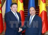 Việt Nam-Mông Cổ củng cố và phát triển hợp tác nhiều lĩnh vực