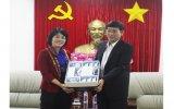 Lãnh đạo tỉnh tiếp Đại sứ Việt Nam tại Singapore