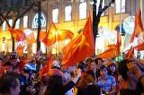 Fan Việt đang tràn ngập đường mừng kỳ tích U-23 Việt Nam