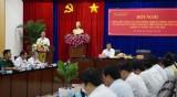 Khối nội chính quyết định sự ổn định an ninh chính trị, trật tự an toàn xã hội