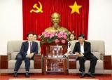 Lãnh đạo tỉnh tiếp và làm việc với lãnh đạo thành phố Daejeon, Hàn Quốc