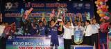 B.Bình Dương đăng quang vô địch