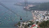 越南富国岛的世上最长缆车正式投入运营