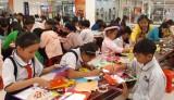 TX.Thuận An: 177 thí sinh tham gia hội thi viết thư pháp và thiết kế thiệp chúc xuân năm 2018