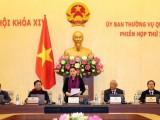 Khai mạc Phiên họp thứ 21 Ủy ban Thường vụ Quốc hội