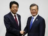 Lãnh đạo Hàn Quốc và Nhật Bản hội đàm ngay trước khai mạc Olympic