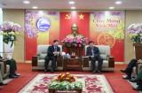 Lãnh đạo tỉnh tiếp Đoàn đại biểu tỉnh Kratie- Campuchia đến thăm và chúc Tết