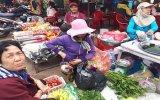 Chợ quê những ngày cận tết