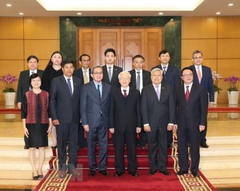 Tổng Bí thư tiếp Đại sứ, Đại biện ngoại giao các nước ASEAN