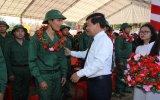 TP.Thủ Dầu Một hoàn thành công tác giao quân năm 2018