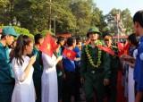Lễ giao nhận quân tại Bàu Bàng diễn ra nhanh gọn, an toàn