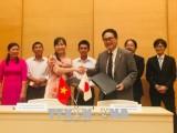 日本为改善越南各地方基础设施提供无偿援助