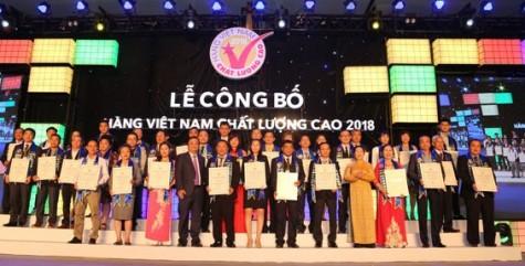 Danh sách 640 DN được NTD bình chọn HVNCLC 2018