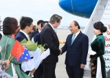 Thủ tướng Nguyễn Xuân Phúc đến Sydney, dự Hội nghị ASEAN-Australia