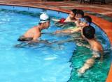 Nâng cao công tác phổ cập bơi cho học sinh