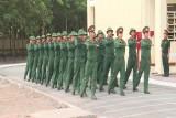 Chiến sĩ mới tại trung đoàn Bộ binh 6 (Bộ chỉ huy quân sự tỉnh): Hăng say tập luyện trên thao trường