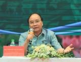 Thủ tướng Nguyễn Xuân Phúc đối thoại với nông dân tại Hải Dương