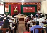 Thị ủy Dĩ An: Tổ chức hội nghị Ban Chấp hành Đảng bộ thị xã lần thứ 15 mở rộng
