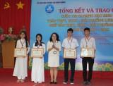 Trao giải cuộc thi Olympic học sinh giỏi văn giải thưởng Sao Khuê và giỏi toán giải thưởng Lương Thế Vinh