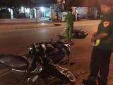 Tai nạn liên hoàn giữa 3 xe máy, 4 người nhập viện cấp cứu