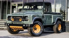 Land Rover sản xuất xe bán tải cạnh tranh Mercedes X-class