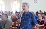 Đoàn đại biểu Quốc hội tỉnh tiếp xúc cử tri tại  TX. Thuận An
