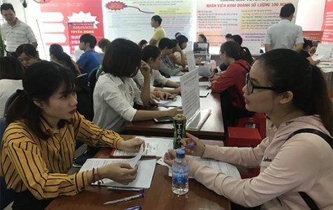 Phiên giao dịch việc làm 185: Gần 500 doanh nghiệp tham gia tuyển lao động