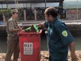 TP.Thủ Dầu Một: Tăng cường nạo vét, thu gom rác thải trên kênh, rạch