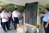 Đoàn cán bộ ngành Tuyên giáo tỉnh thăm Khu di tích lịch sử Trung ương Cục miền Nam