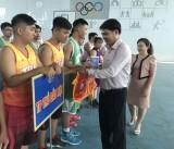 Khai mạc Giải bóng rổ nam - nữ Đại hội Thể dục thể thao tỉnh