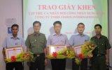 Khen thưởng đột xuất Đội Công nhân xung kích